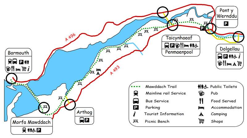 mawddach_trail_map